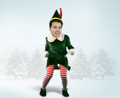 Tony Elf Dancing